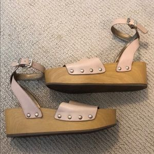 Sam Edelman sandals with small wedge
